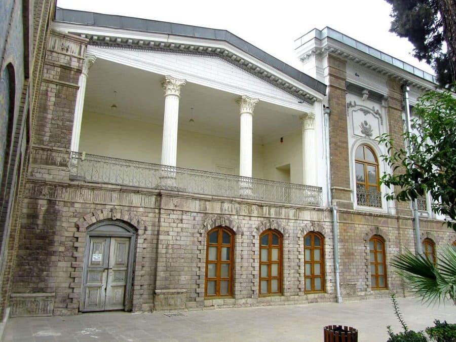 Muzeu Teheran-Palazzo-Abyaz
