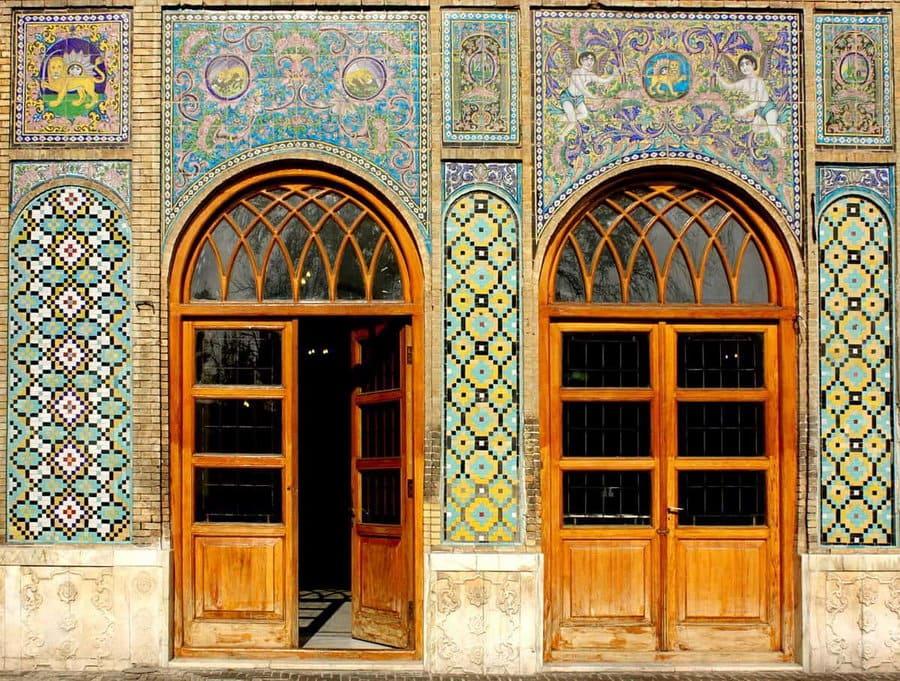 Teheran-palau-Golestán