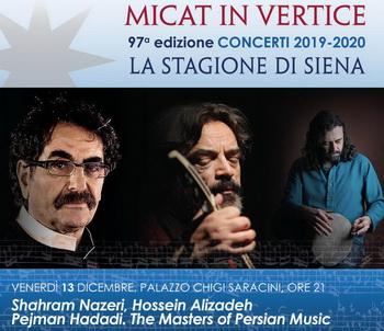 کنسرت اساتید موسیقی سنتی ایران در شهر سیه نا