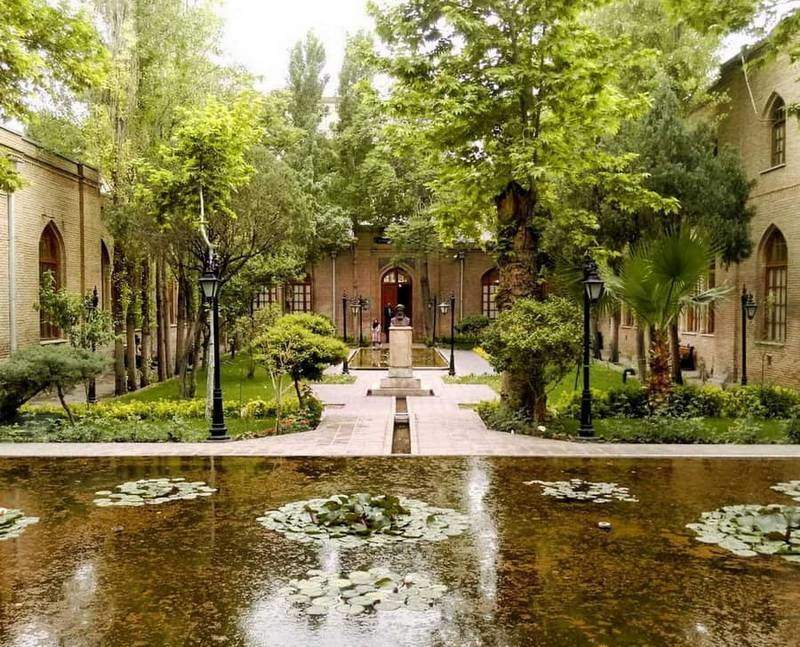 Tehran-Giardino Negarestan-Museo di Kamal Al Molk