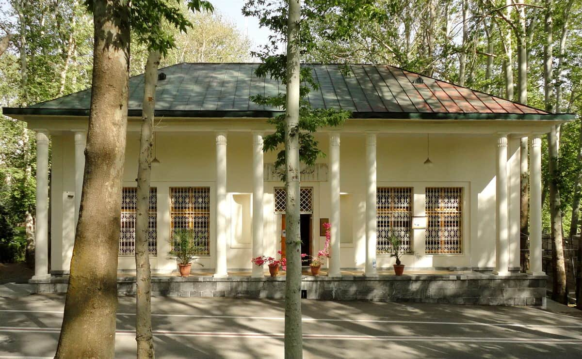 शाही एल्बमों के तेहरान-संग्रहालय और Sa'd dbād के दस्तावेज़