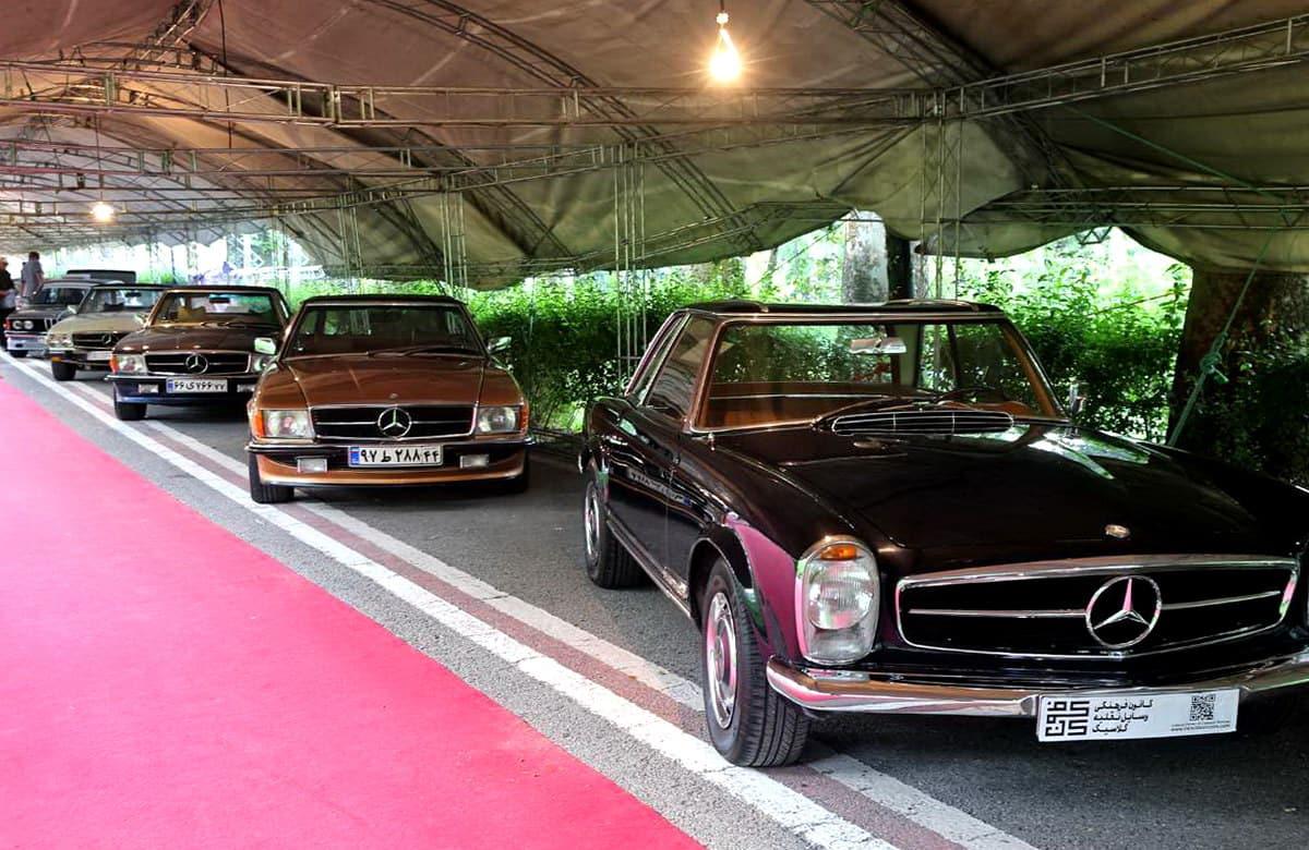 तेहरान - नियावरन महल की निजी कारों का संग्रहालय
