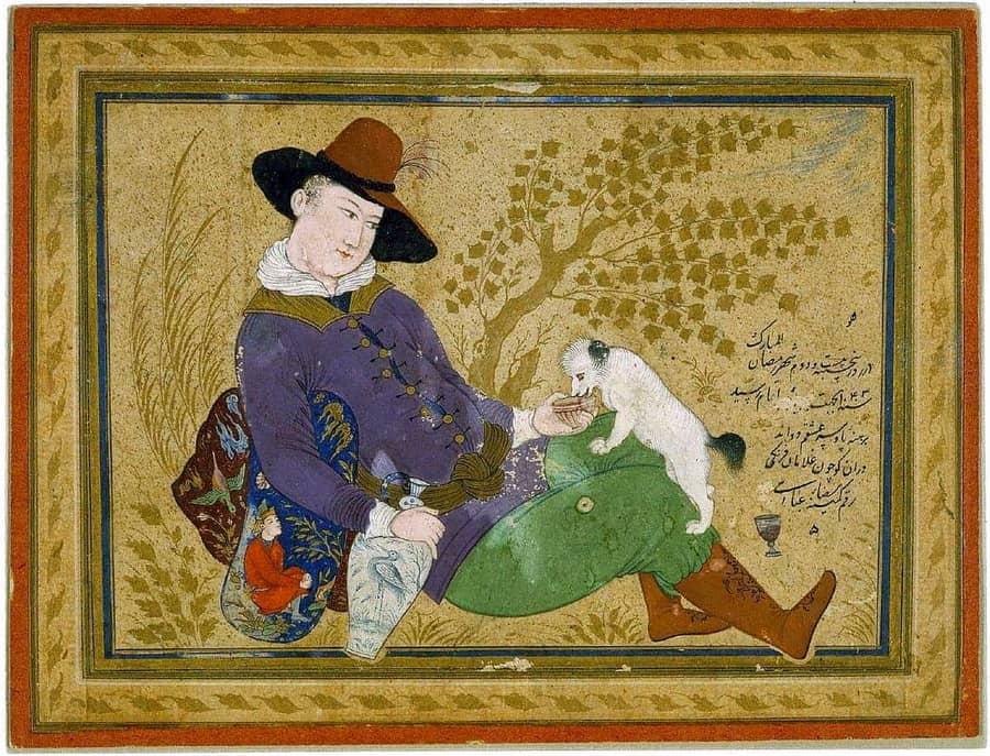 Museu Abbasi de Teheran-Reza