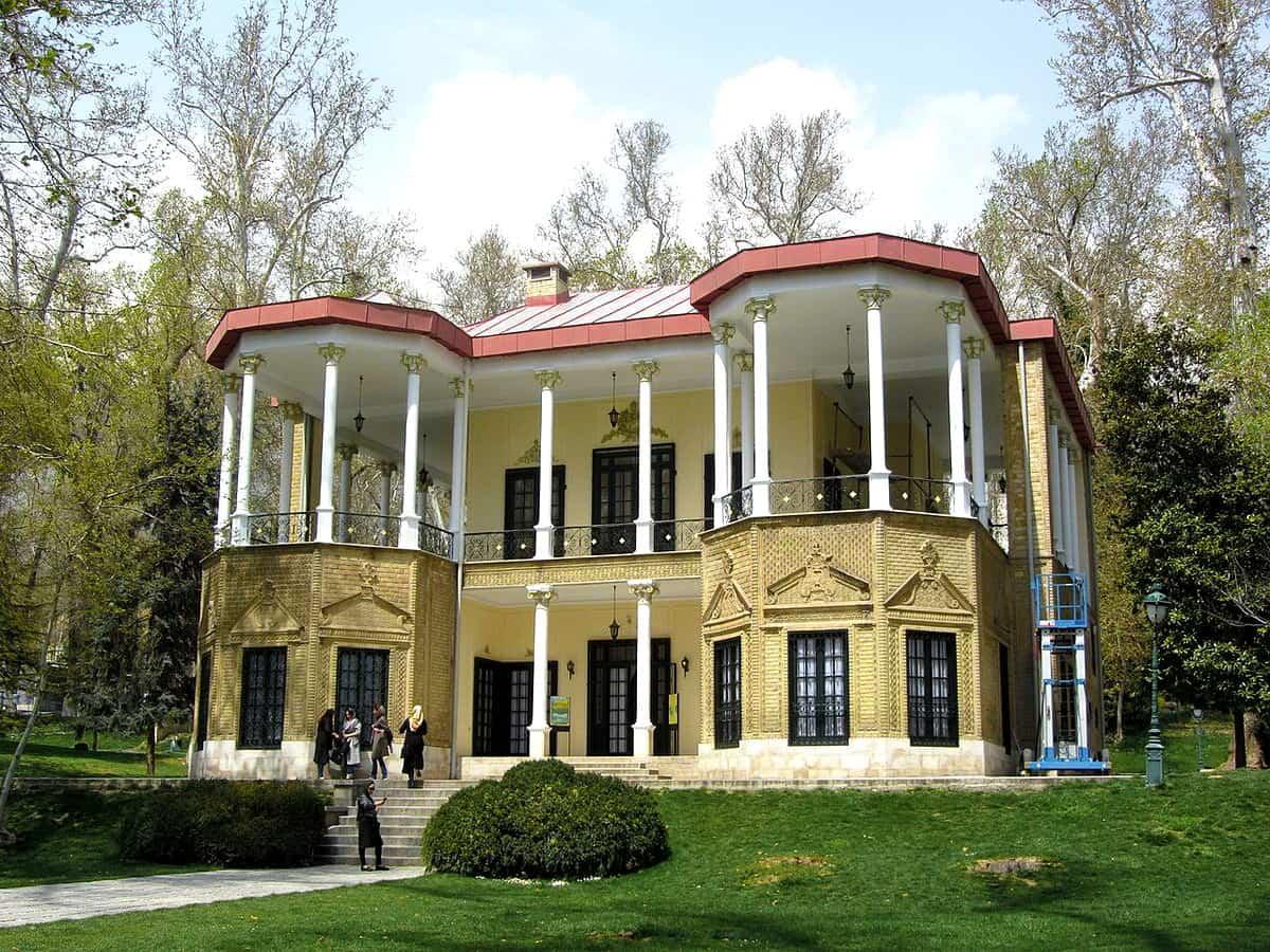 तेहरान-पैलेस अहमद शाही