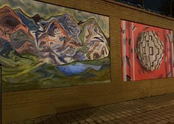 градското изкуство обединява посолството