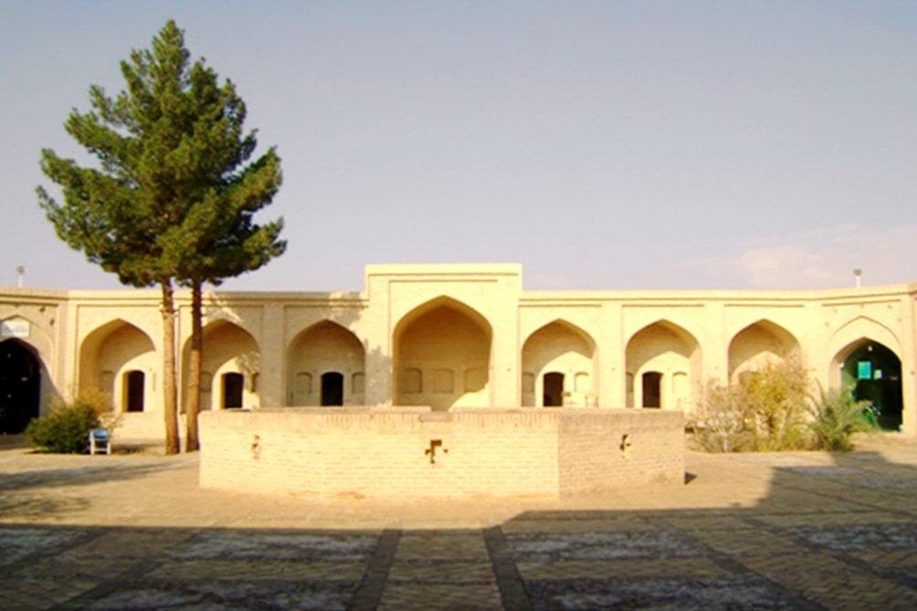 Yazd-Caravanserraglio abul qassem rashti