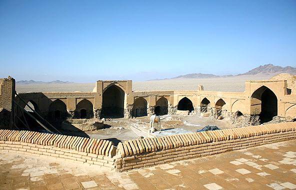 Yazd-Caravanserai Khargushi