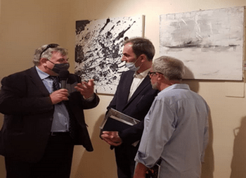 نمایش اثار نقاشی ایزابلا سالاری در جشنواره بزرگ هنری شهر اسپلو ایتالیا