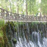 La Fonte  e il Parco di  BABA AMAN
