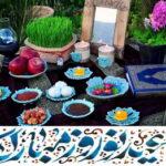 Auguri arriva Nowruz Capodanno persiano. Il Festival di Nowruz